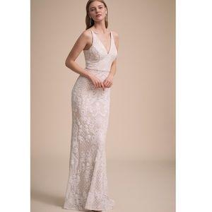 BHLDN Jennings wedding dress